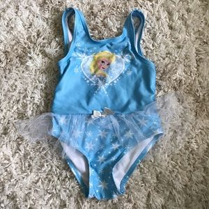 Disney Elsa swimsuit